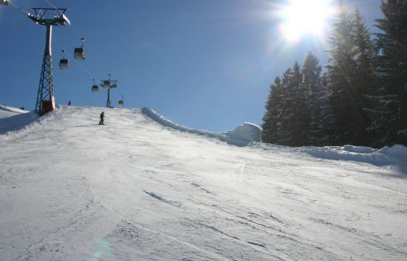 Schipiste in Kirchberg in Tirol