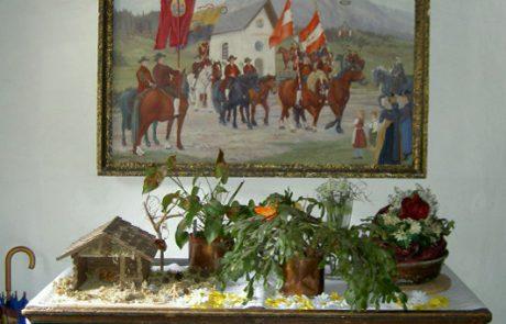 Gemälde im Eingangsbereich des Peternhofes in Kirchberg in Tirol