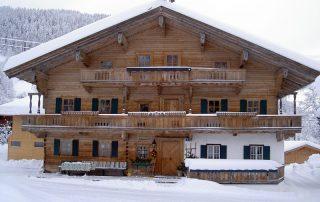 Der Peternhof im Winter in Kirchberg in Tirol