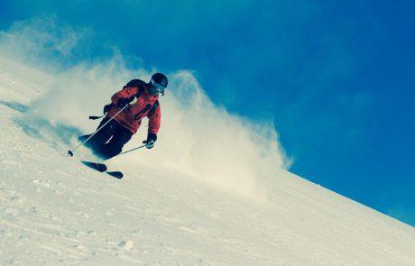 Schifahrer in Kirchberg in Tirol