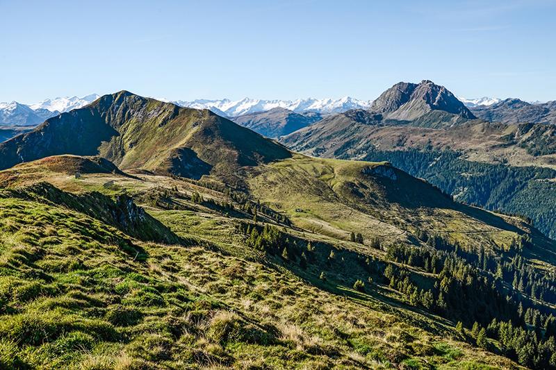 Berganorama im Sommer in Kirchberg in Tirol